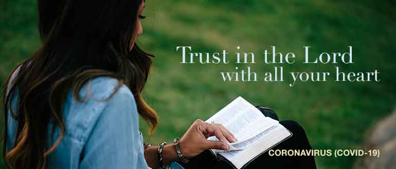Trusting in God with the Coronavirus