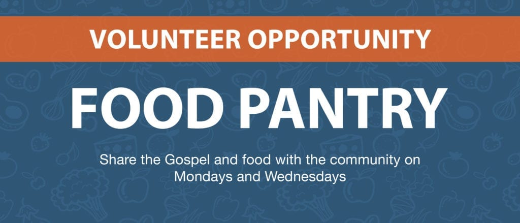 Volunteer Opportunity: Food Pantry
